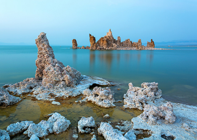 After August Sunset at Mono Lake