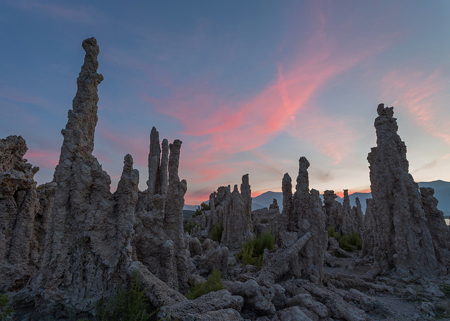 August Sunset at Mono Lake