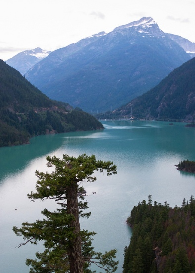 Diablo Lake in North Cascades National Park