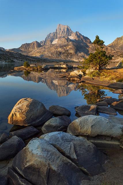 Early Light on Banner Peak