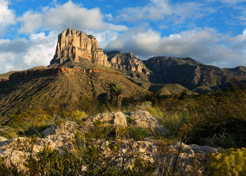 Guadalupe Mountains Early Light