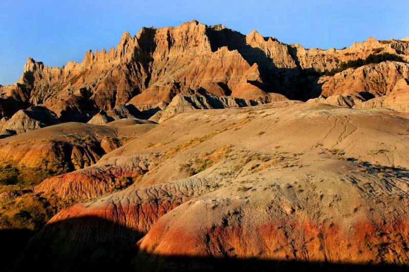 Sunrise at Badlands National Park
