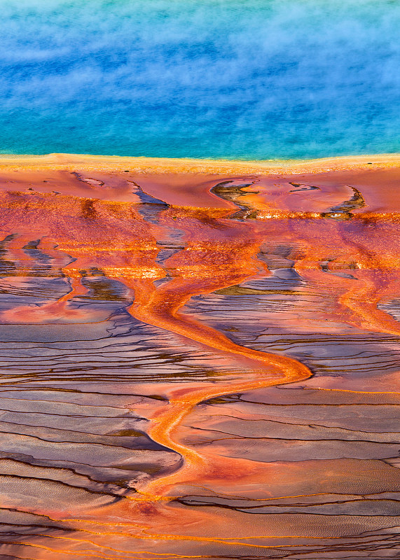 Edge of Grand Prismatic Spring