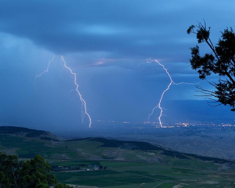 Lightning Near BCNP