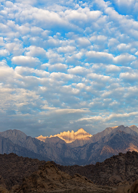 Portrait of Mount Whitney