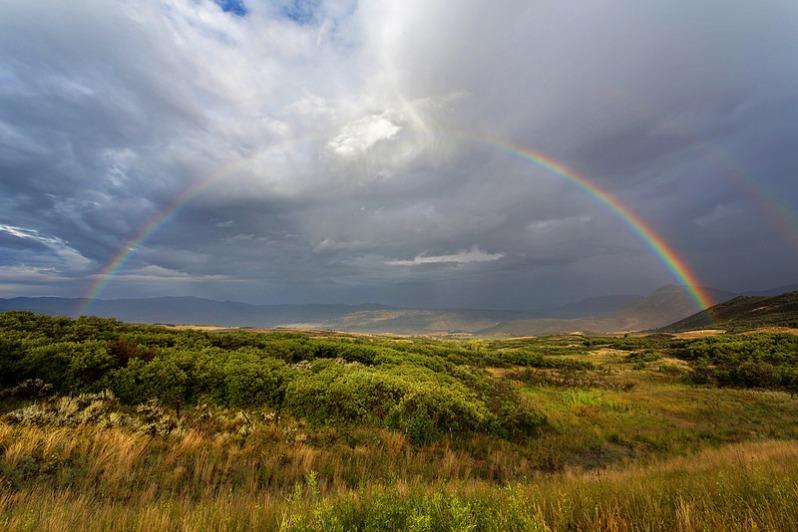Rainbow Near Gunnison