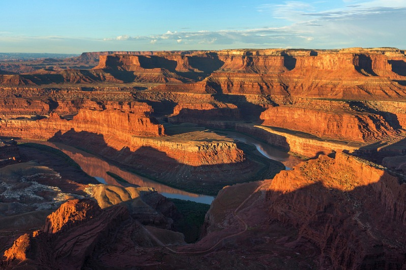 Sunrise at Dead Horse Point State Park