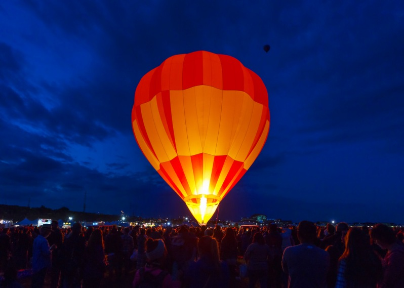 Balloon Preparing for Launch