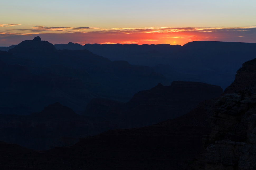 Before Sunrise at the Grand Canyon