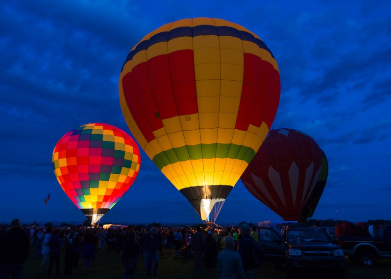 Blue Hour Balloons