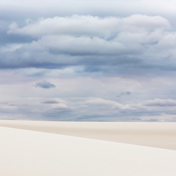 Clouds Over White Sands National Monument
