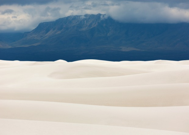 Cloudy Afternoon at White Sands