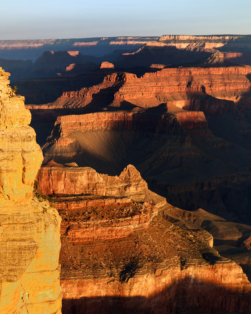 Grand Canyon Sunrise Shadows