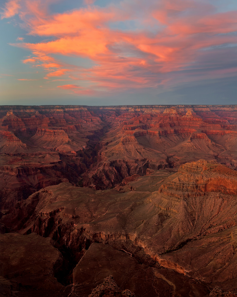 Grand Canyon Sunset Portrait