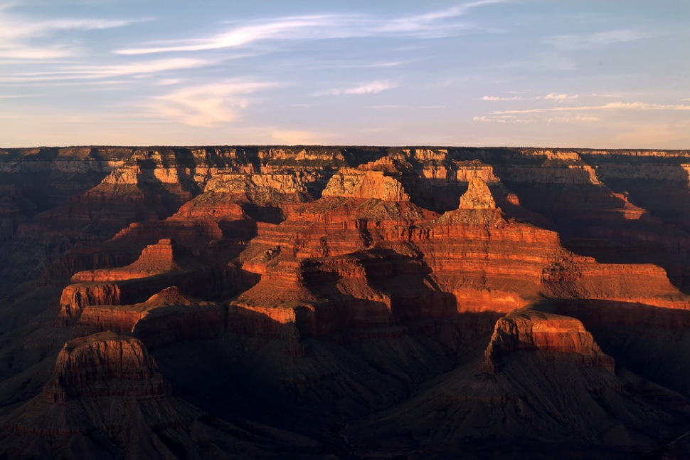 Late Light on the Grand Canyon