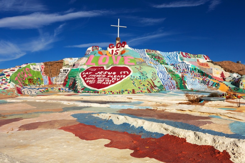 Salvation Mountain Landscape
