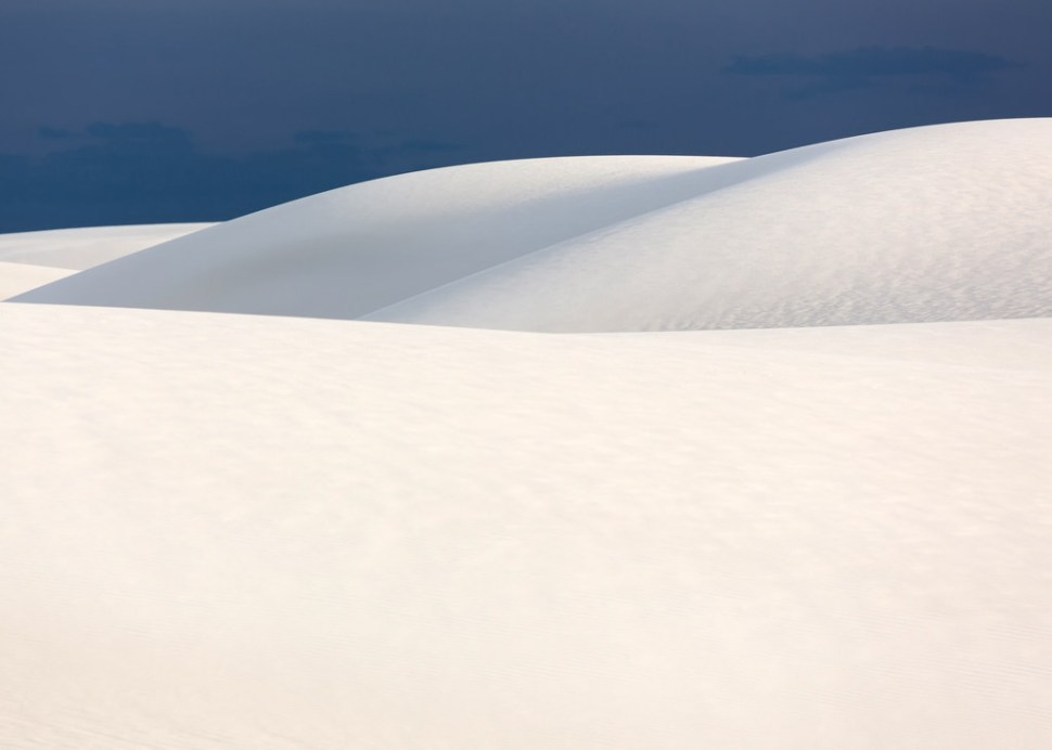 Soft Light on White Sands