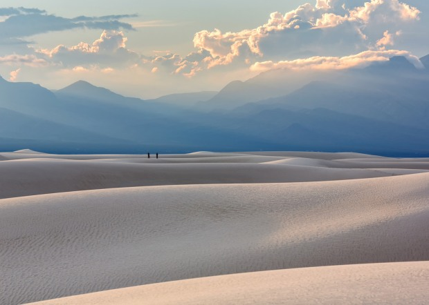 Two Photographers at White Sands