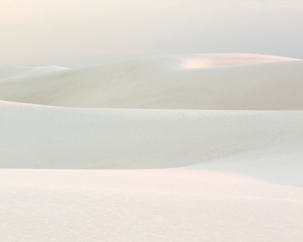 White on White at White Sands