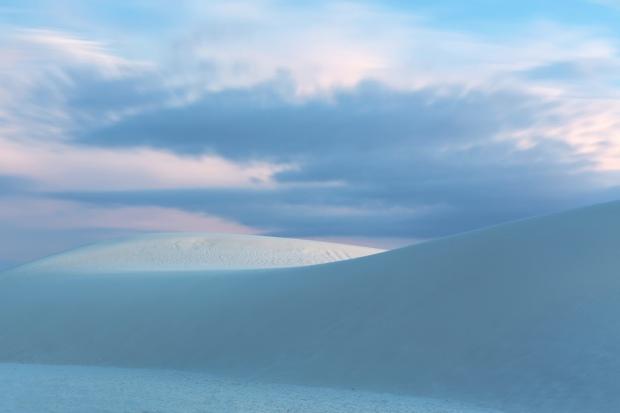 White Sands Blue Hour