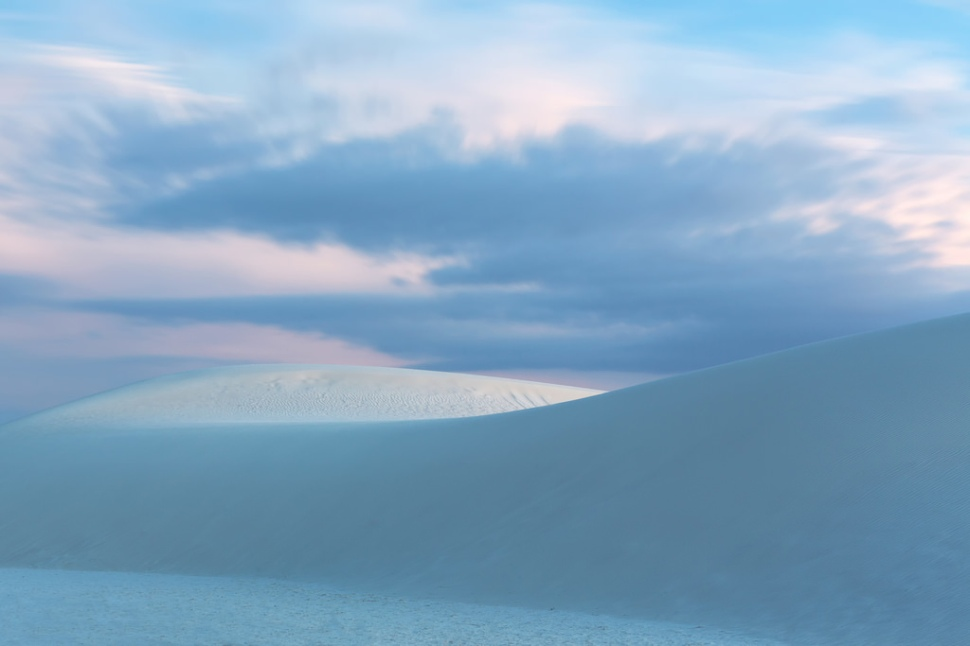White Sands Blue Hour