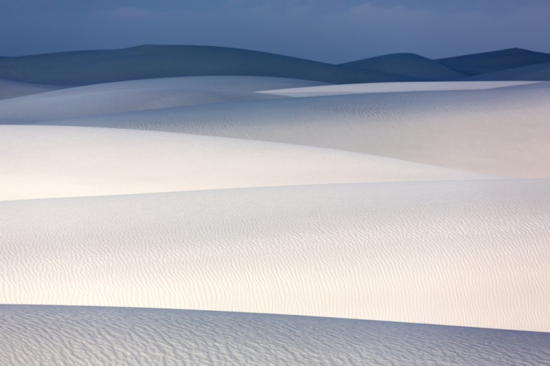 White Sands Dune Landscape