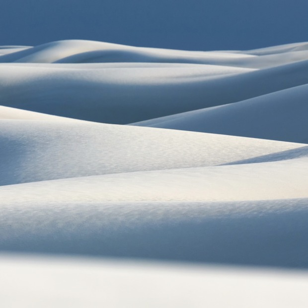 White Sands Pattern Square