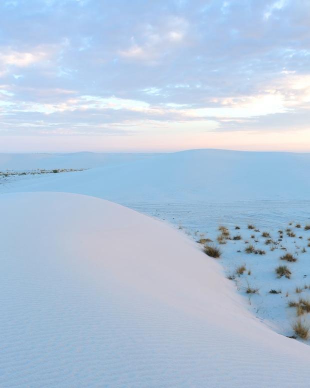 White Sands Sunrise Portrait