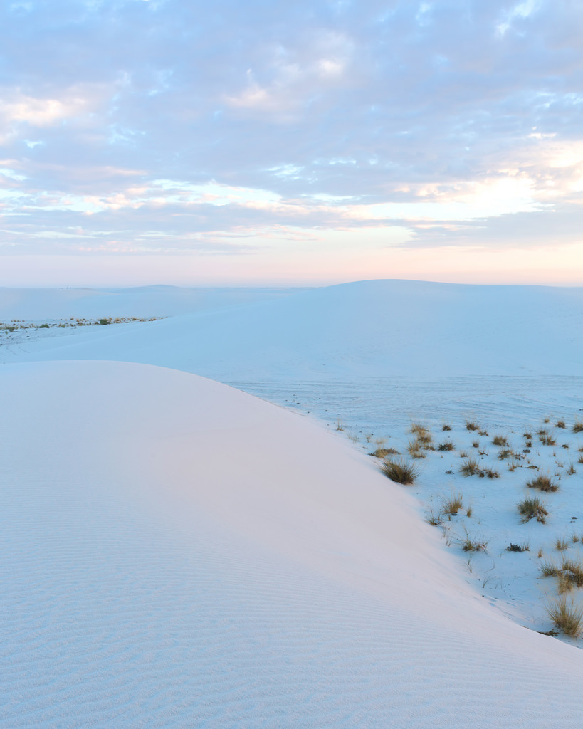 White Sands Sunrise Portrait