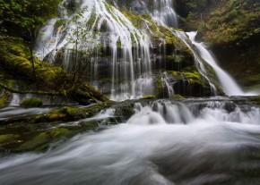 Base of Panther Creek Falls