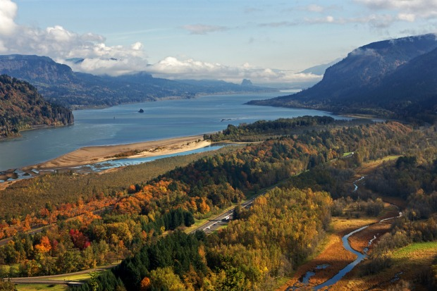 Columbia River from Crown Point