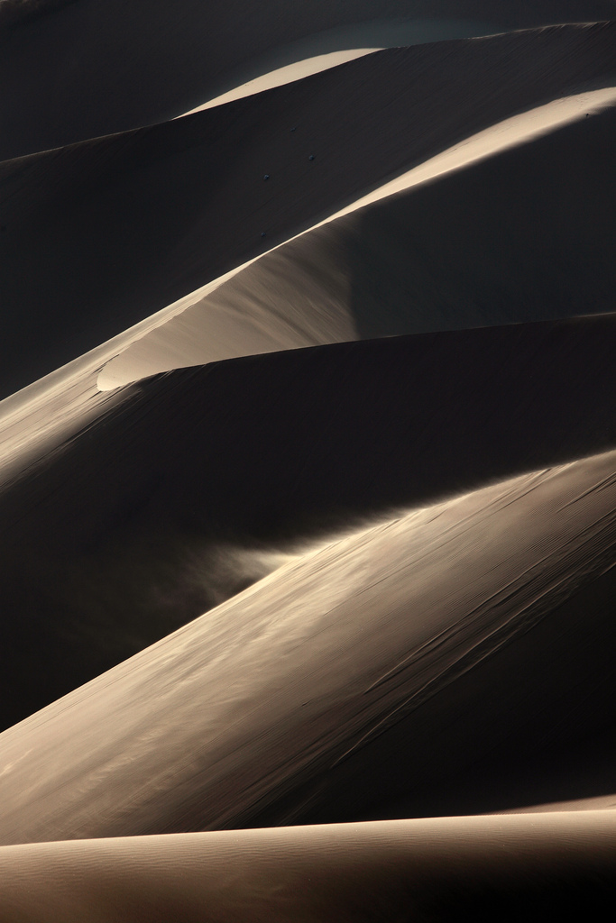 Blowing Sand at the Huacachina Dunes