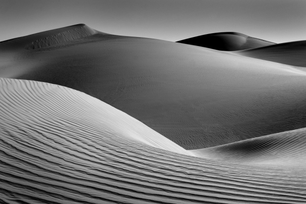 Imperial Sand Dunes in B&W