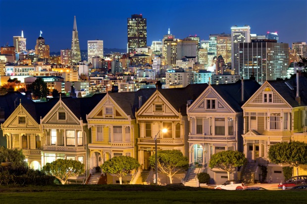 Painted Ladies Blue Hour