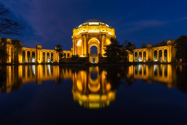 Palace of Fine Arts Blue Hour