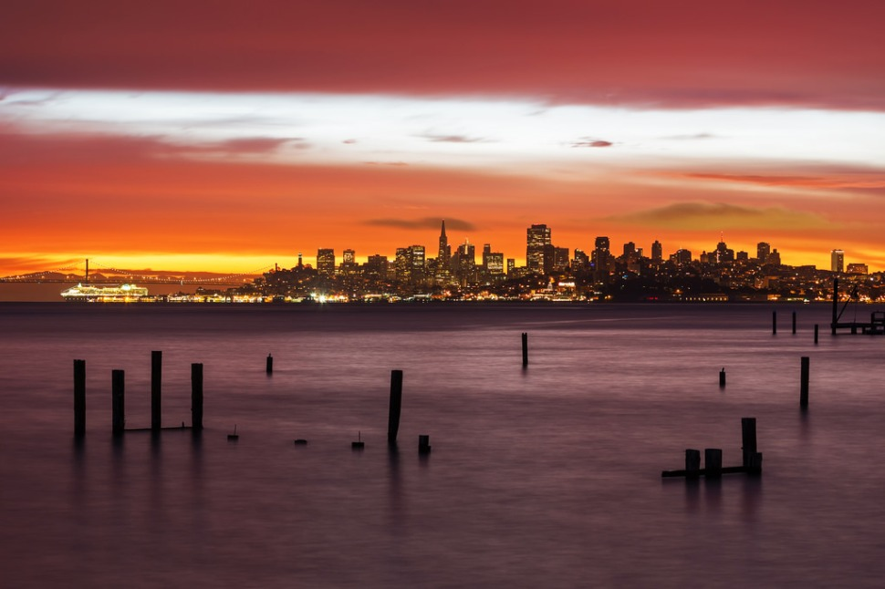 Solstice Sunrise from Sausalito