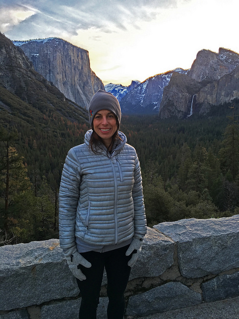 Marie at Tunnel View