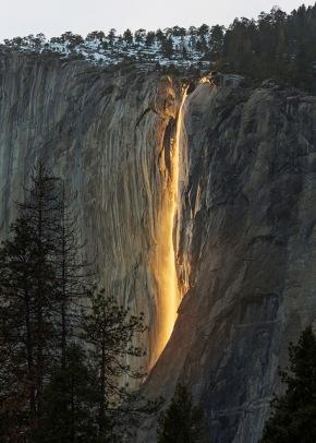 Yosemite Firefall 2016