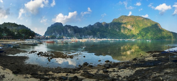 El Nido Early Light Pano