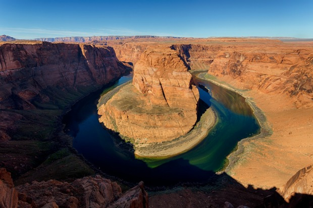 Horseshoe Bend Shadow