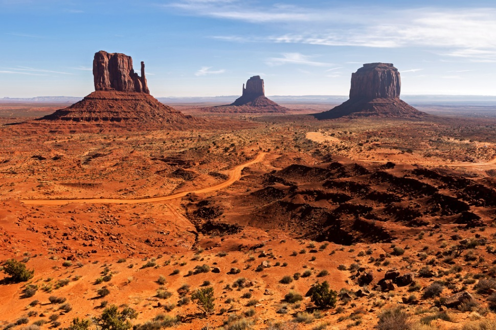 Monument Valley Mid-day