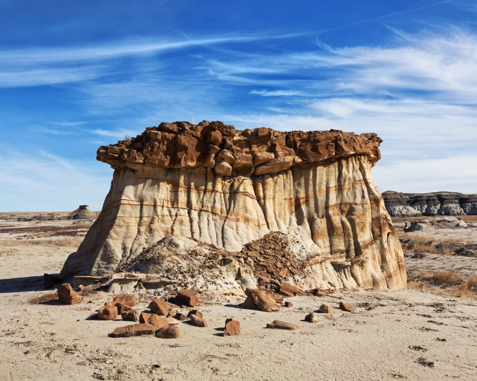 Rock Formation at Bisti