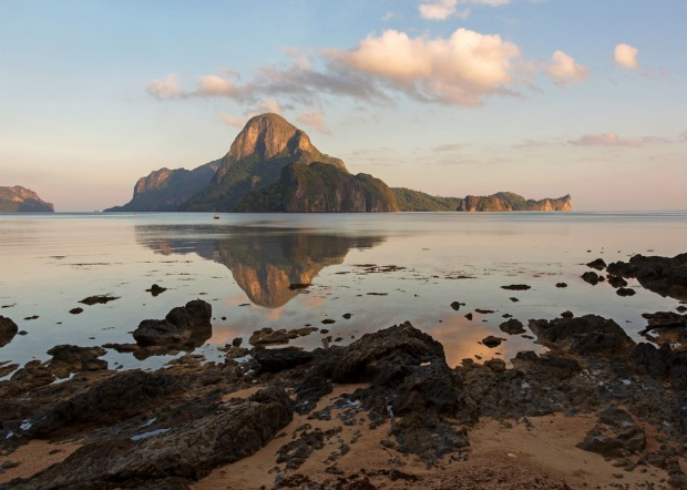 Sunrise Reflection in El Nido