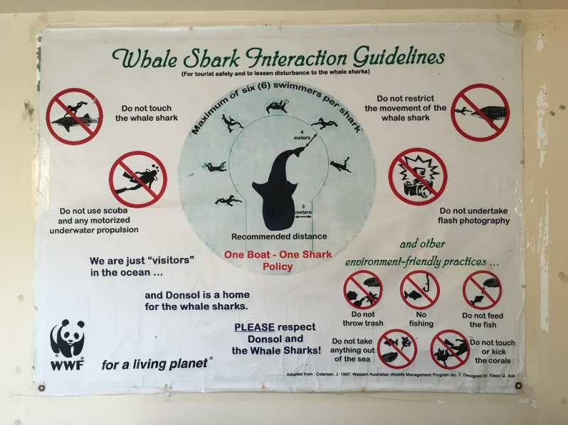 Whale Shark Interaction Guidelines