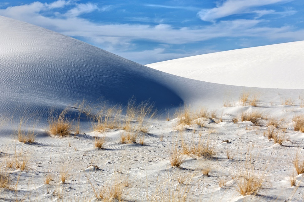White Sands and Blue Sky