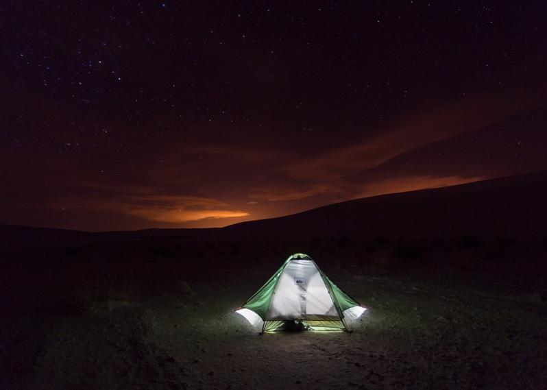 White Sands Campsite