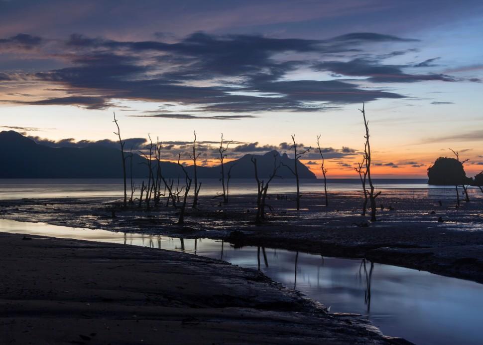 After Sunset at Bako