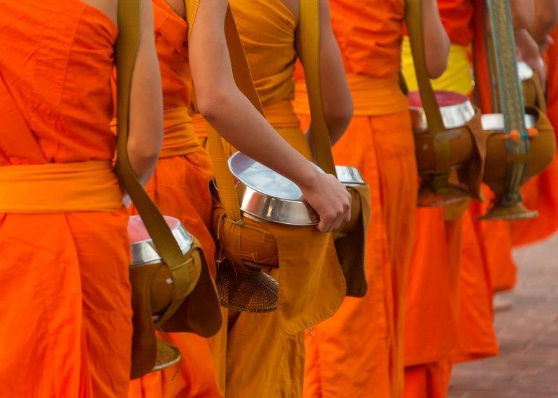 Alms Bowls in Luang Prabang