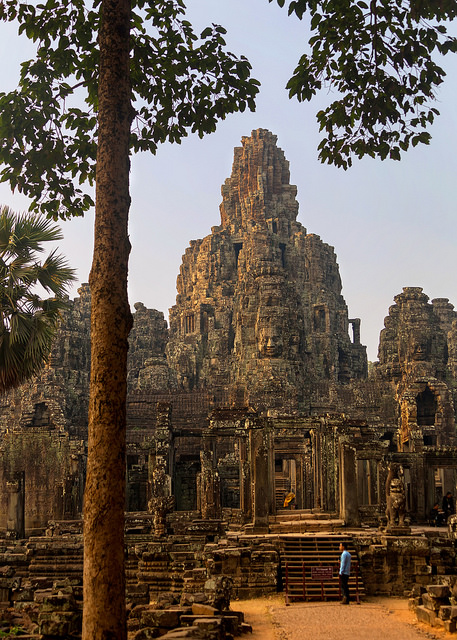 Early Light on Bayon