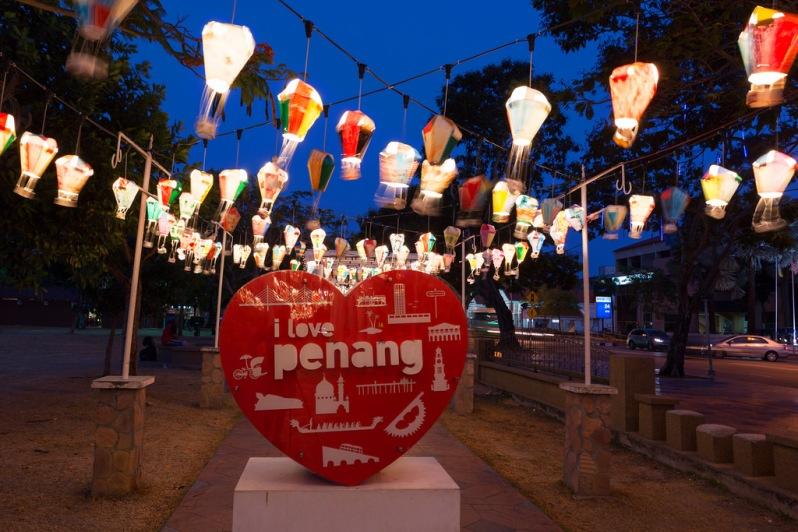 Hot Air Balloon Lamps in Penang